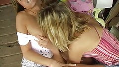 lesbian teen outdoor