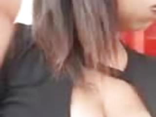 Showing boob Sexy girl showing boob
