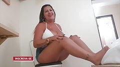 Hot Youtuber Kamila Silva - Nipslip trying on their blouses