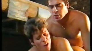 short haired german step mom double penetrated by two guys