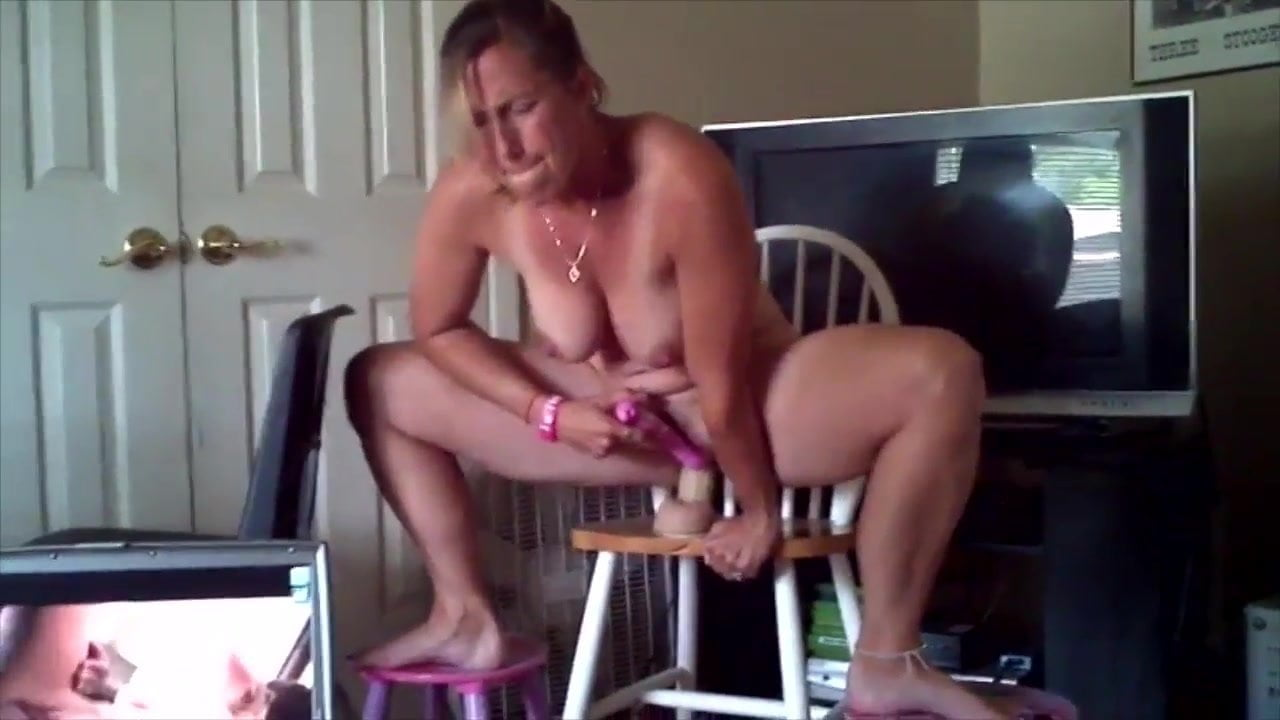 Wife Masturbates For Husband
