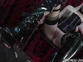 Cock and ball bondage pictures - Mistress ariel tortures cock and balls