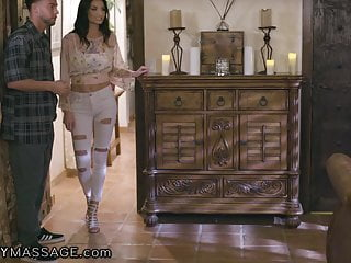 Mom dad are fucking my friends - Fantasymassage hubby caught me fucking my stepson...