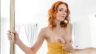 VR BANGERS Redhead Houseowner Is A Stripper VR Porn
