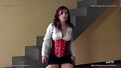 Lady Scarlet  -  Enslaves Femdom and Spanking