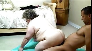 Granny housewife fucked doggie style