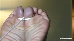 Black maid slave wrinkle soles