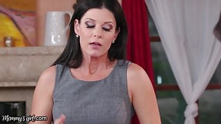 MommysGirl MILF-in-Law Caught her Cheating & Joins In