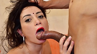 Indian stepmom in saree fucked hard in the ass by stepson