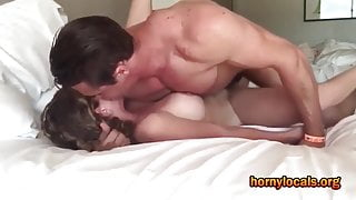 Fucking a Spectacular Blonde to Orgasm