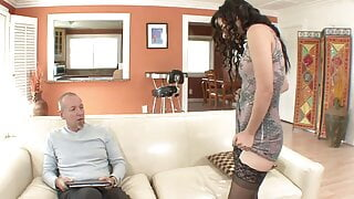 My Stepdad Has A Huge Cock... I Go Crazy For His Cock!!!