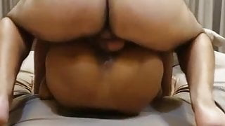 Thailand, deepthroated and ass fucked whore