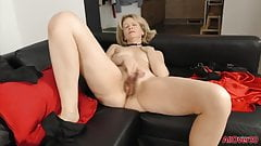 Diana V Eyes Wide Shut Masked Hairy Mature MILF Sex