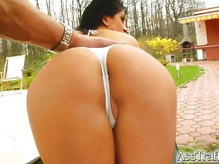 Lia porn Ass traffic lias tight butt can hardly take these cocks
