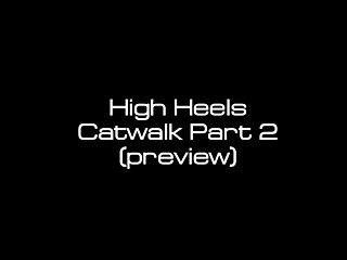 Asian catwalk models High heels catwalk part 2