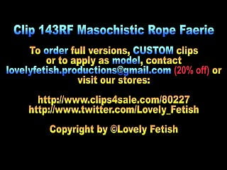 Spanking teens clips Clip 143rf masochistic rope faerie - mix-12:08min, sale: 16