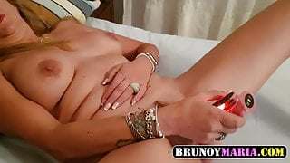 MARIA: penetrating my Pussy to the Bottom