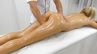 In-Home Massage Therapist Fucked Young Naughty Teen