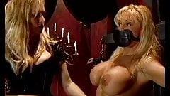 Blonde bound & gagged by mistress