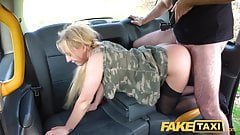 Fake Taxi Amber Deen gets a horny taxi fuck and a facial