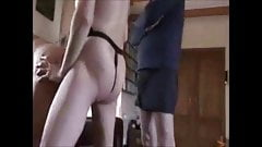 Mature cuck couple with cleanup