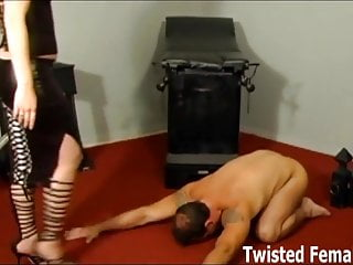 Double team bondage Double teaming our new sex slave