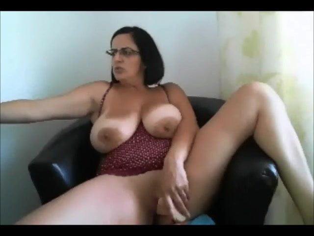Solo Big Tit Masturbation