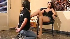 Slapped In The Face By Her Powerful Feet