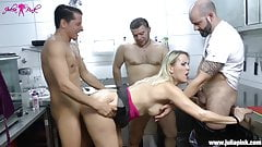 GangBang - fucked in all holes