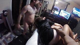Husband films wife getting first black cock big cumshot