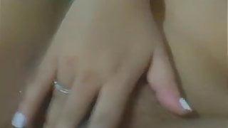 Big tits Indian Milf fingering pussy