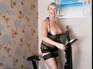 Dirty just lingerie nude wearing - Just a funny lockdown nude exercise video