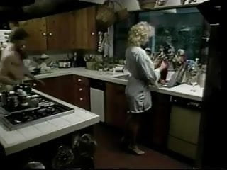 Vintage kitchen appliances Vintage furry blonde brit stevie fucked in kitchen