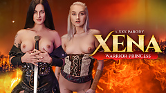 WARRIOR PRINCESSES, Xena and Gabrielle Have Threesome