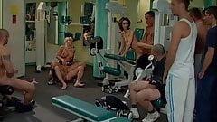 Pornoluver's nasty gym Orgy Bukkakke