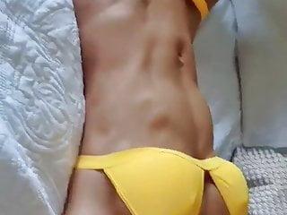 Bikini thong fitness girls Fit girl