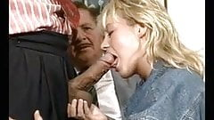 old man and couple fuck