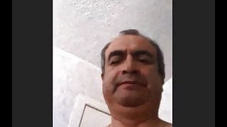 Ecuadorian grandpa wank cum