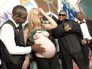 Pregnant Gangbang