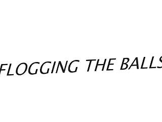 Femdom flogging - Flogging the balls