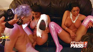 Fraternal Sisters Kit And Kat Lee Audition Orgy