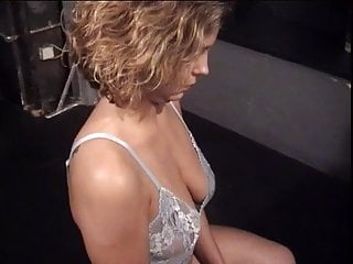 Men into bondage - Big tits whore into bondage and bdsm with an older guy