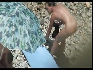 Watch couples have sex - Couples have sex on beach
