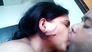 Indian Bhabhi's Pussy Licked and Fucked With Hindi Audio