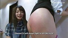 japanese+lesbian spank