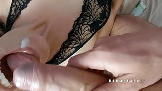 Cumpilation - Good wife doesn't dodge the cum