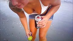 Bikini Downblouse (Close Nip Slip)
