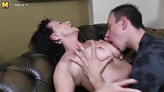 Grandmother fucked by young not her son