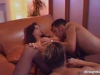 Pussy fucking blowjobs Double penetration anal and pussy fucking