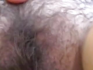 Shaved she - Showing wife hairy pussy been months since she shaved it